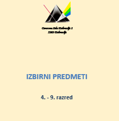 IZBIRNI PREDMETI 2017-18